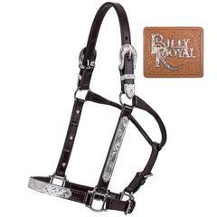 Billy Royal® Silver Plate Fitted II Show Halter